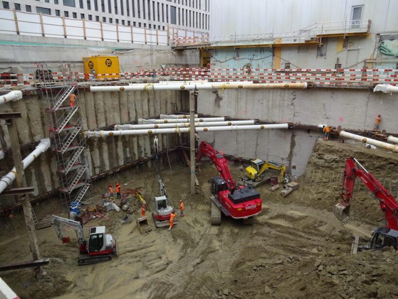 Baugrube Geotechnisches Institut AG